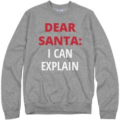 Dear santa: i can explain