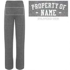 Property of Custom Name Sweats