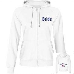 Bride Hoodie with Back