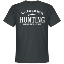 Care about is hunting