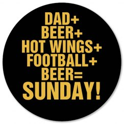 Sunday Football for Dad