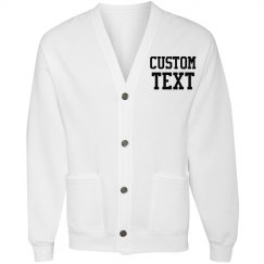 Custom Cardigan Sweater