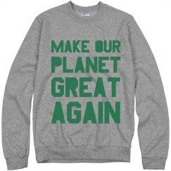 Warm Make Earth Great Again