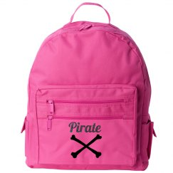 Pink Pirate Backpack