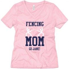 Fencing Mom