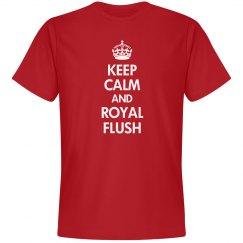 Keep Calm Royal Flush