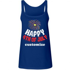 Happy 4th of July Fireworks Tee