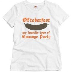 Oktoberfest Sausage Party
