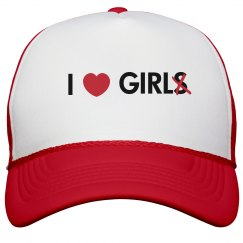 I Heart Girl Hat