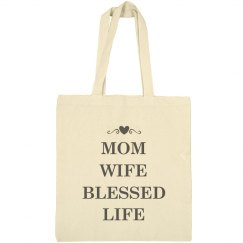 Cute Mom Wife Blessed Life