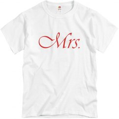 Mrs. Couple Tee