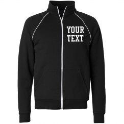 Personalize a Fleece Track Jacket