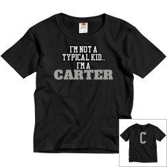 I'm a Carter!