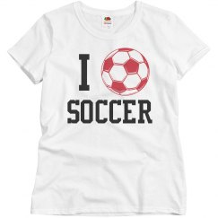 I Heart Soccer T