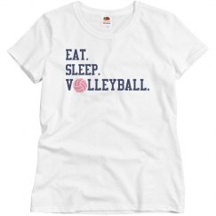 Eat Sleep Volleyball T