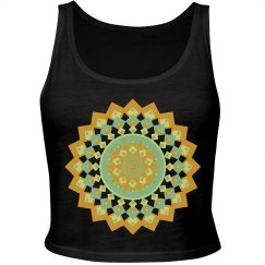 Festival Geometric Mandala Crop