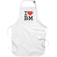 I Love (apron)