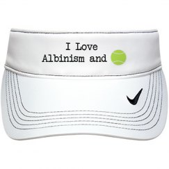 I Love Albinism and Tennis