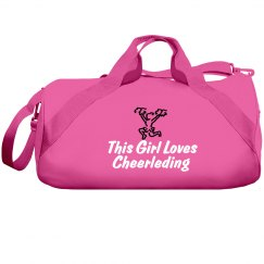 Girl loves cheerleading