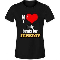 Heart beats for Jeremy