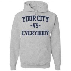 Your City vs Everybody shirt