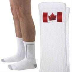 Canada Flag Socks