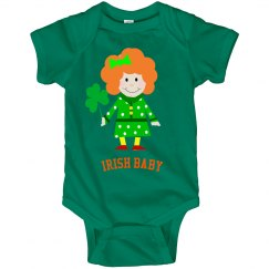 Irish Baby Romper