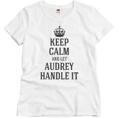 Let Audrey handle it