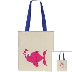 Cartoon  Fish Tote Bag