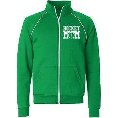 Hockey mom track jacket