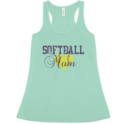 Softball Mom- Mint