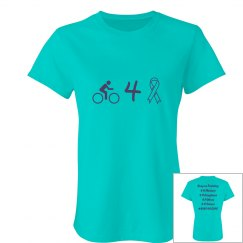 Bike for a Cure - jr fit t-shirt