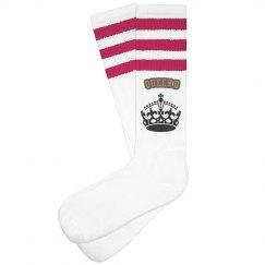 """Queen B"" socks"