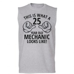 25 year old Mechanic