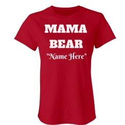 Personalized mama bear