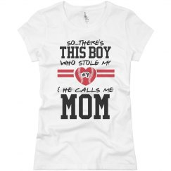 The Baseball Mom's Heart