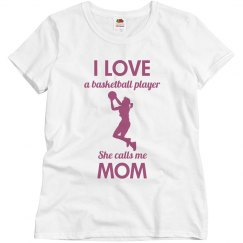 I love a basketball player