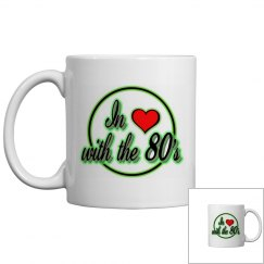 I Love The 80's - Green
