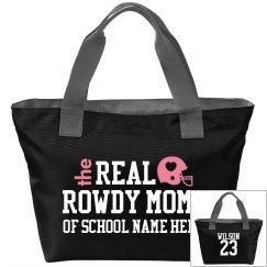 Football Mom On The Go Custom Bag