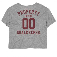 Property of the goalkeeper