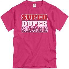 Super Duper Sloane
