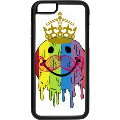 Iphone smiley face case