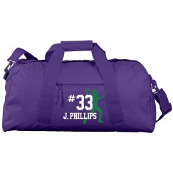 Football Duffel Bag