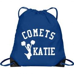 Custom Name Cheer Bag