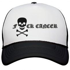 Fuck cancer trucker hat