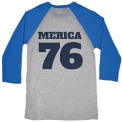 Merica 1776 Matching USA Shirts