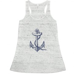 Anchor's Aweigh Flowy Tank Top