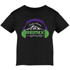 Infant / Toddler Remix T-Shirt (Black)