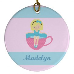 Cute Tea Party Girl Pink