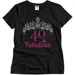 40th Birthday - Crown